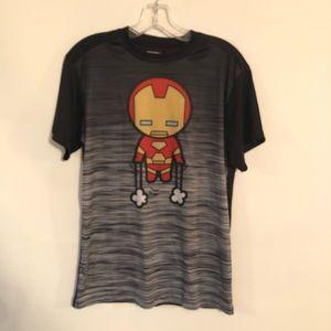 Marvel Comics T Shirt Size S Black & Gray